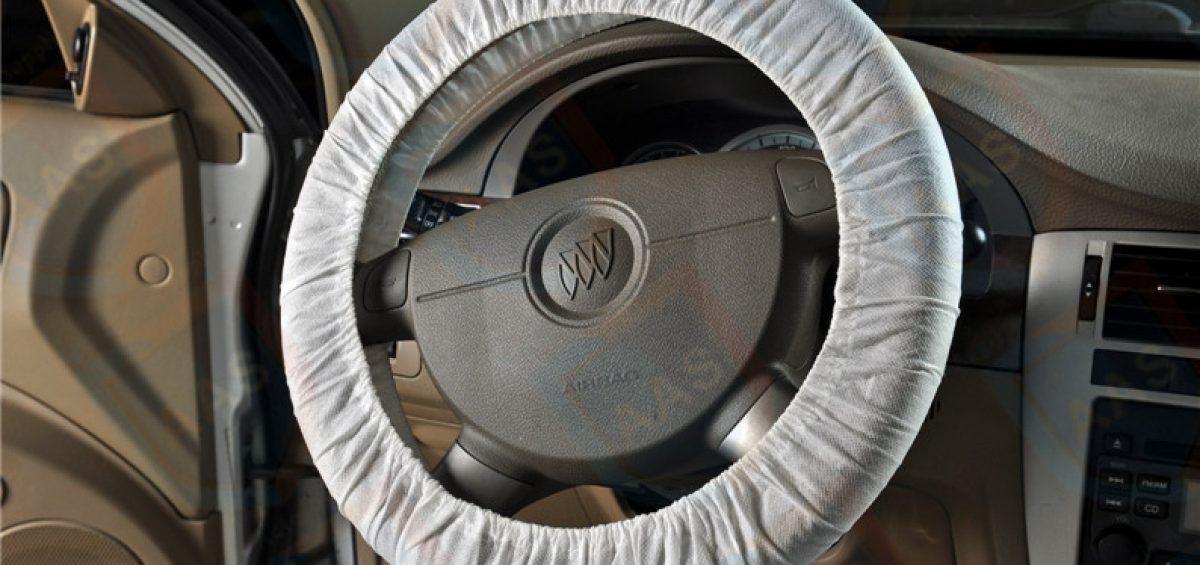 Non Woven Car Steering Wheel Cover